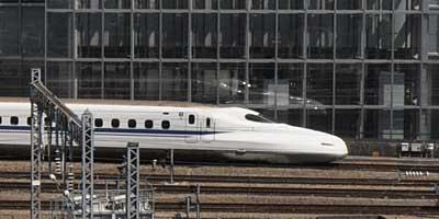 東海道新幹線、東京駅付近